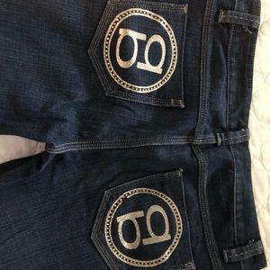 Woman's BEBE Jeans only worn a few times.